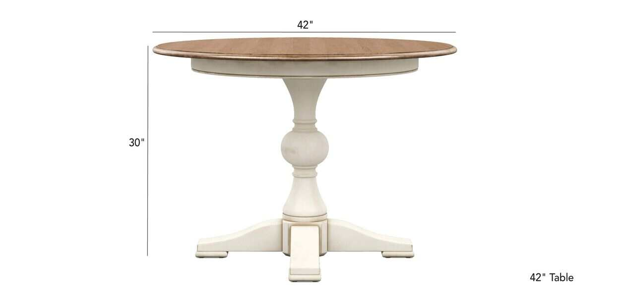 Cooper Round Dining Table, Round Table 42