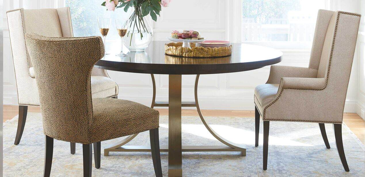 Ethan Allen Dining Room Host Chairs, Ethan Allen Dining Room Chairs