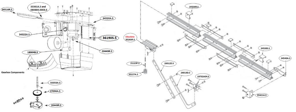 Genie Garage Door Opener Circuit Board Schematic