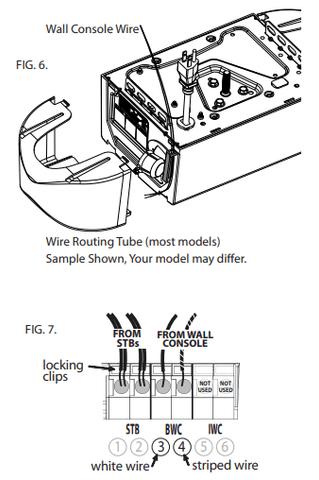 Genie Series Ii Wall Console With Sure, Garage Door Sensor Wiring Diagram