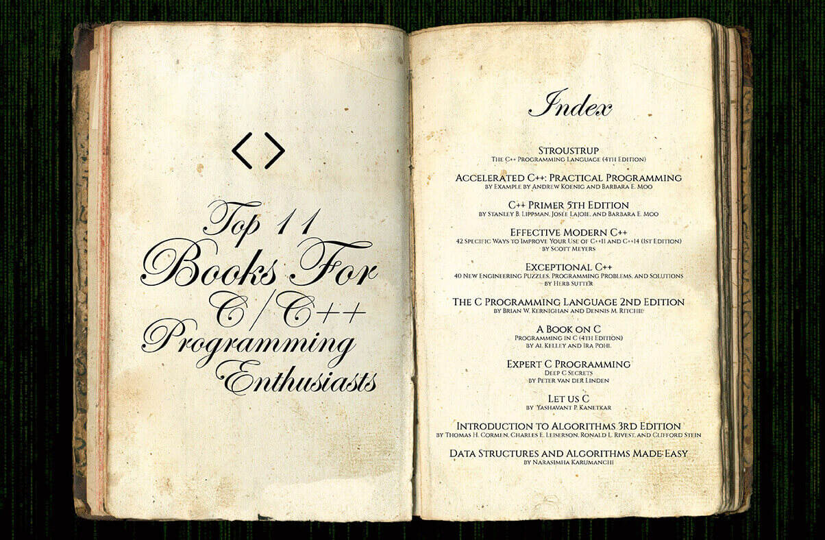 List Of Top C C Books For Programming Enthusiasts Hackerearth Blog