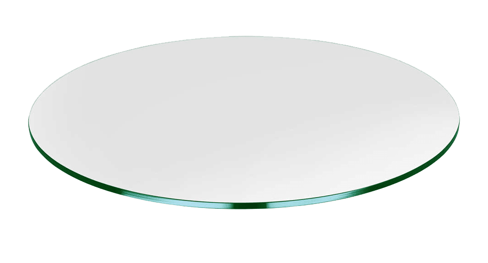 Glass Table Tops Custom Cut Dulles, Round Table Tops Canada