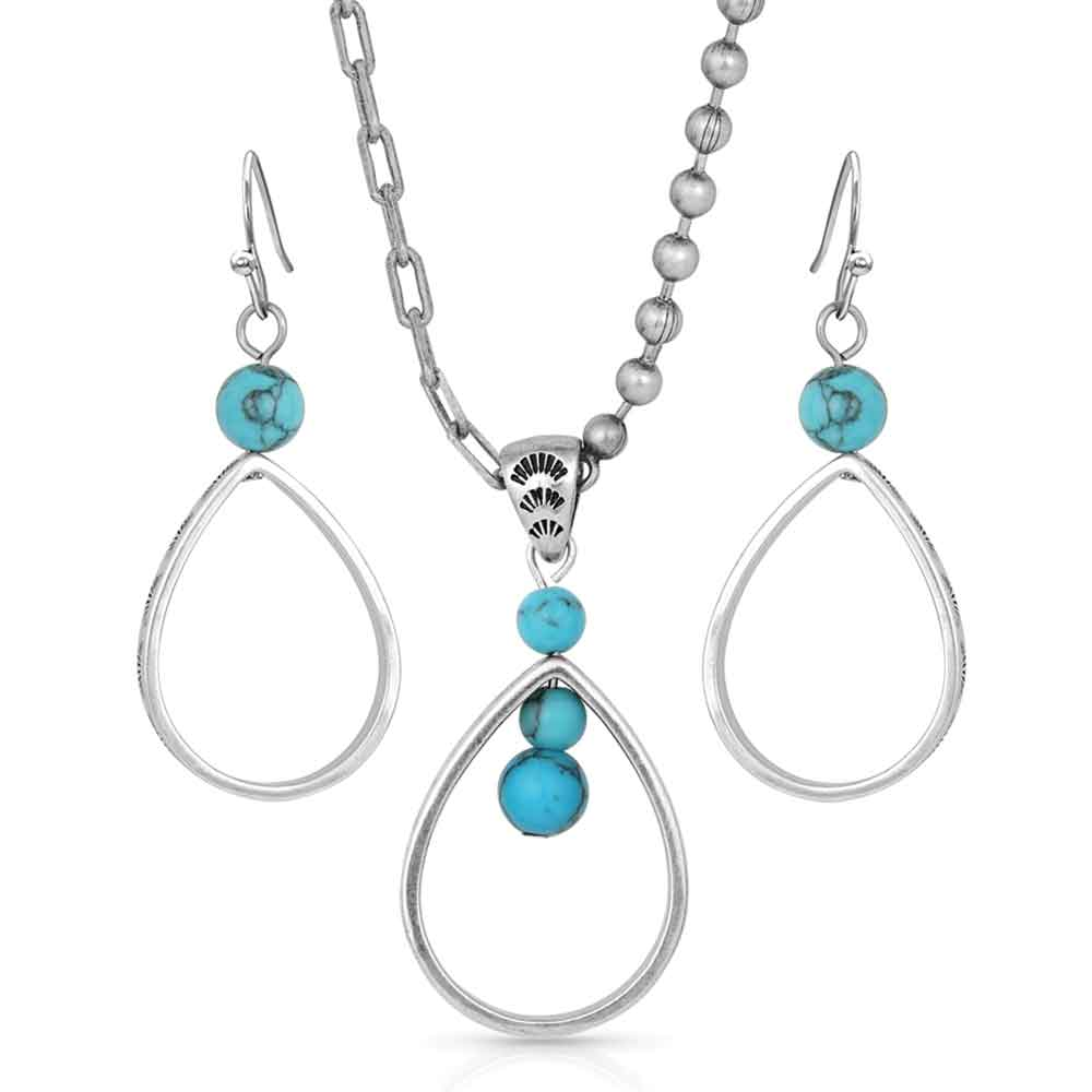 Down to Earth Teardrop Jewelry Set