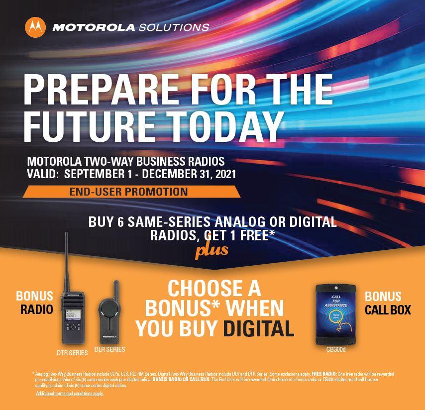 Motorola Fall 2021 Promotion