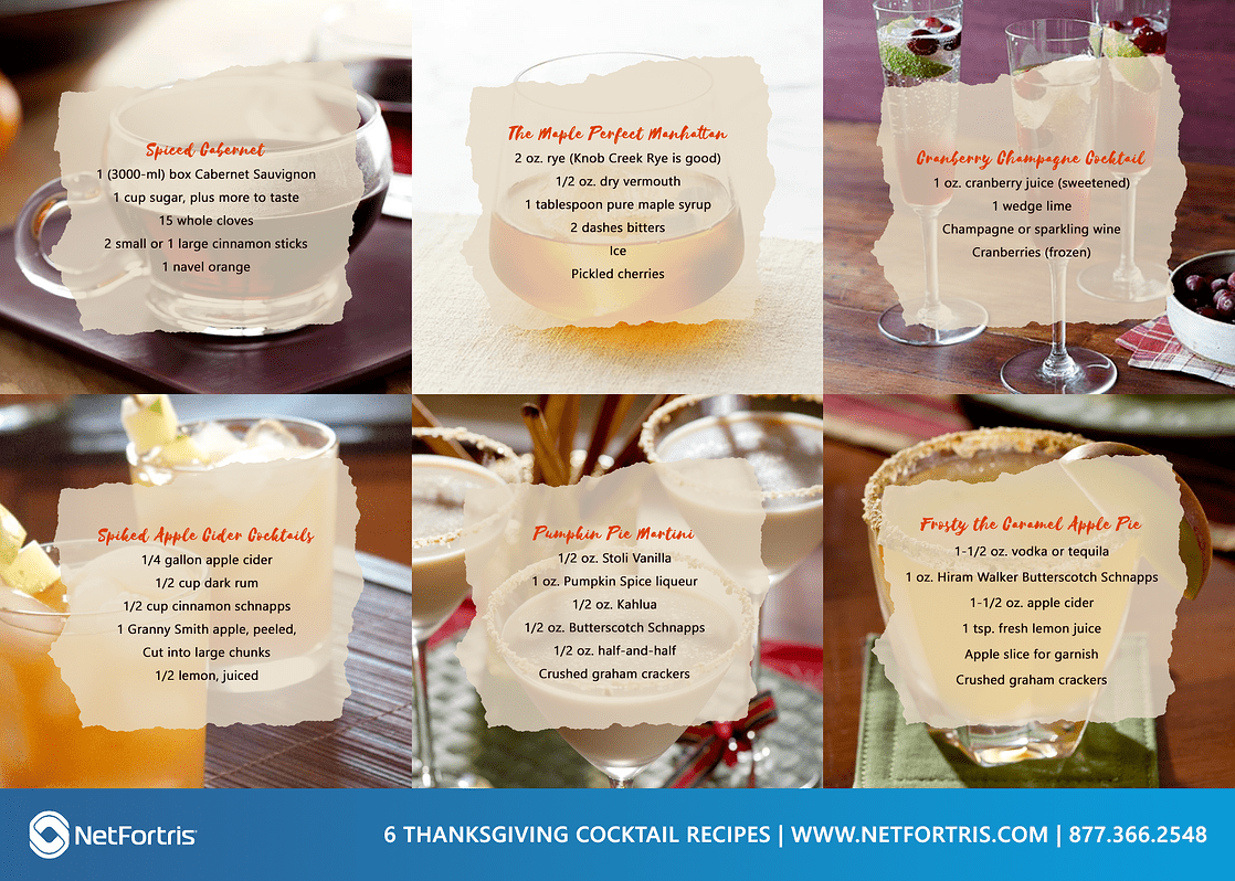 6 Thanksgiving Cocktail Recipes
