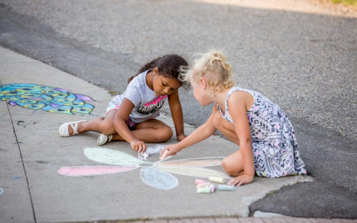 ChalkFest was founded by TAP in 2013 in an effort to bring a fun, free, all ages and abilities public art experience to the community. Contributed / The Arts Partnership
