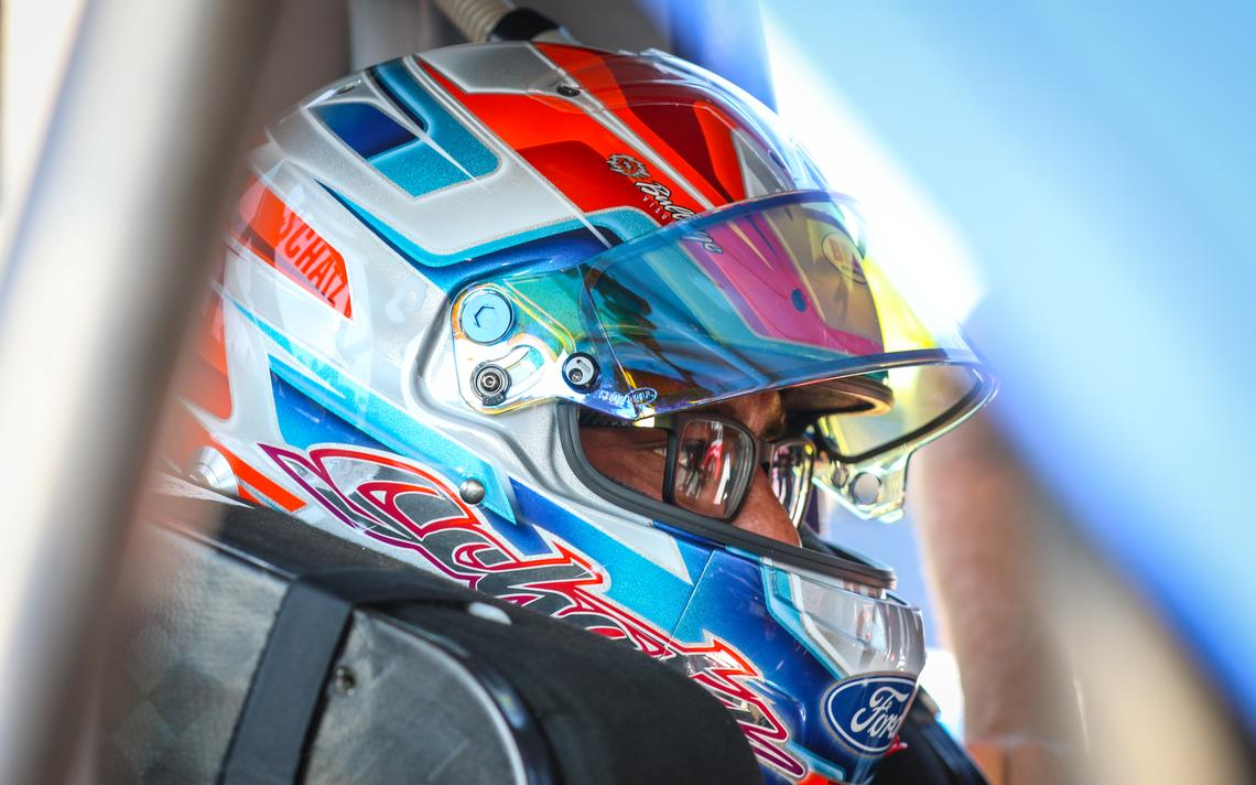 Donny Schatz said Friday's NASCAR event, his first ever, will be a milestone in his career. Mike Spieker / Special to The Forum