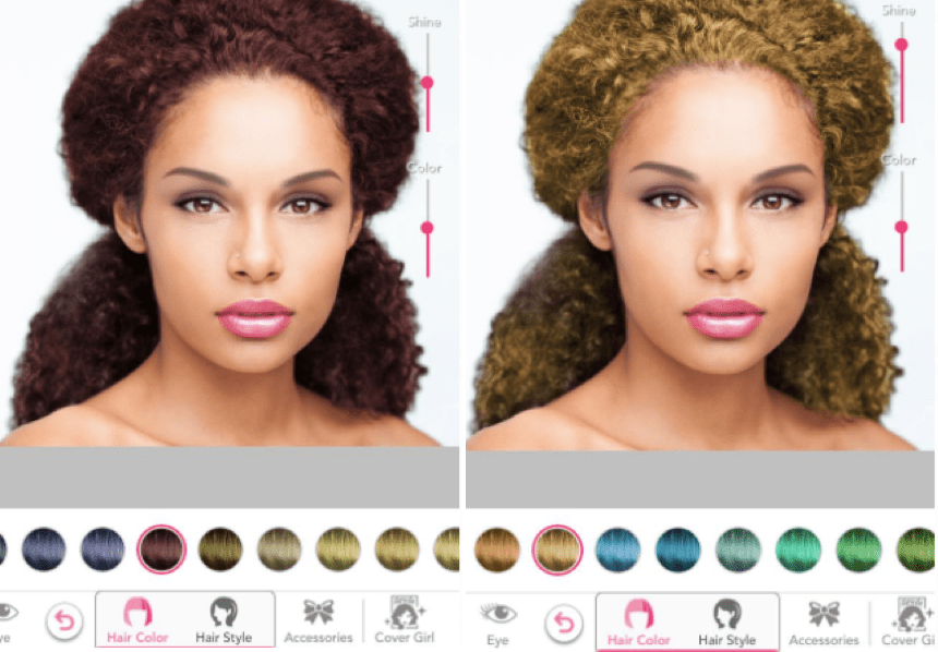 Makeover on what virtual me looks hair color best Try On