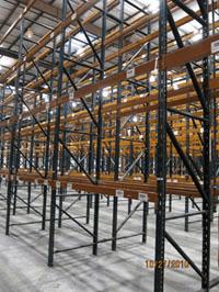 Used Pallet Rack Uprights