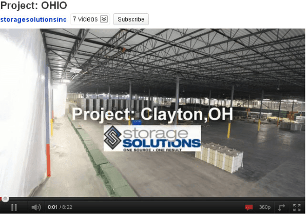 Storage Solutions Project Ohio
