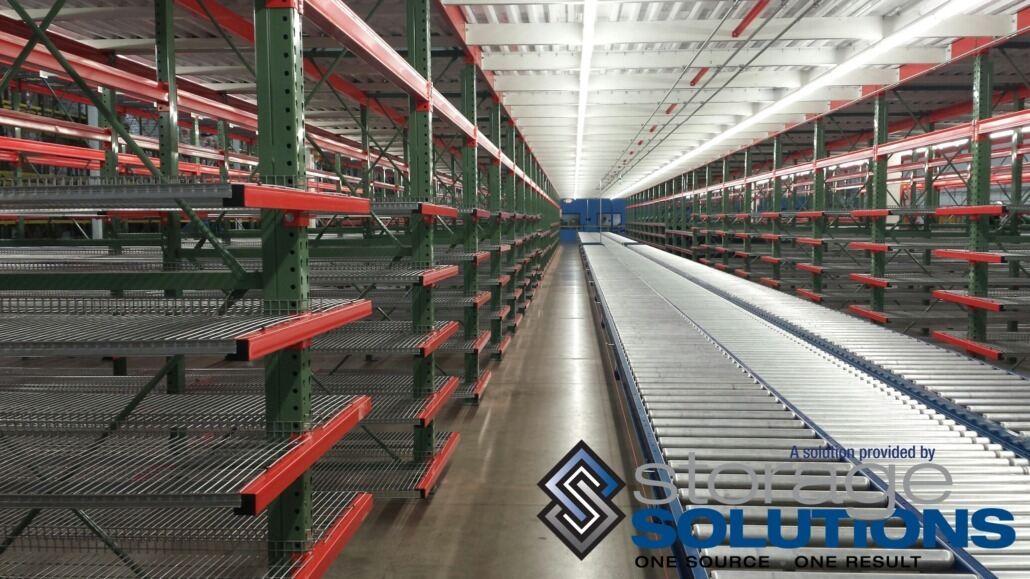 Cantilever Shelving & Conveyor