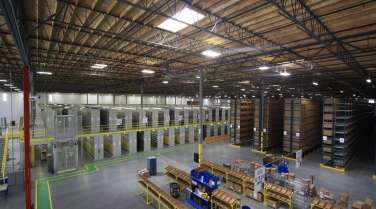 warehouse interior for 3PL
