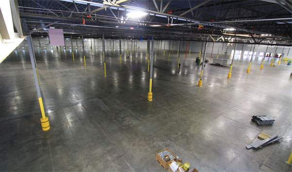 atlanta warehouse empty