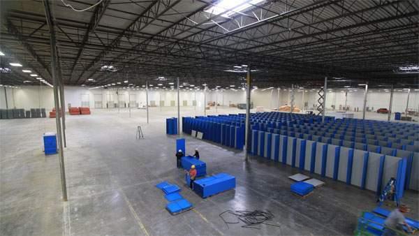 dallas warehouse progress