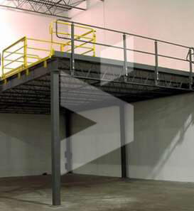 free standing mezzanine