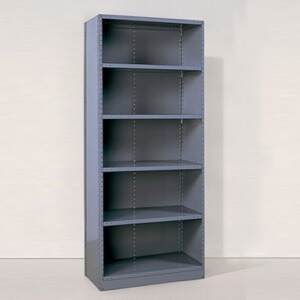 closed steel shelving