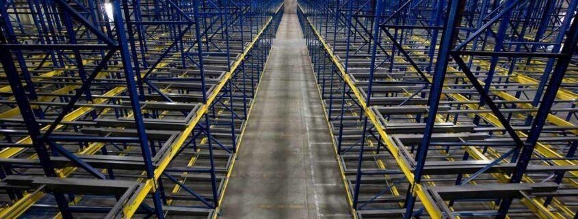 push back pallet rack system