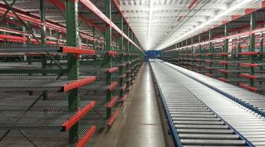 cantilever, shelving conveyer