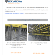 used rack flyer