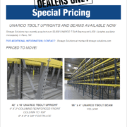 special pricing on used equipment
