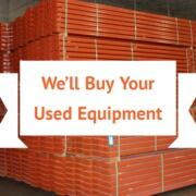selling used warehouse equipment
