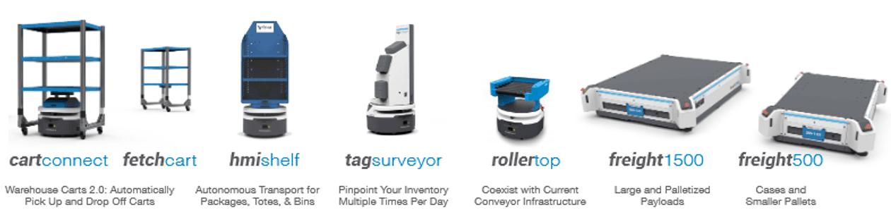 Fetch Robotics Products