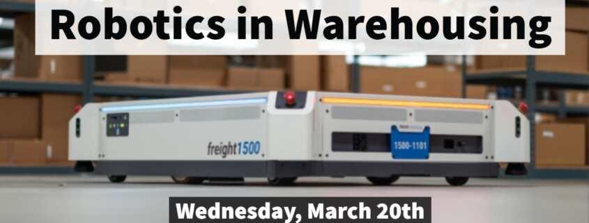 WERC Robotics in the Warehouse