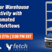 Fetch Robotics Webinar CartConnect