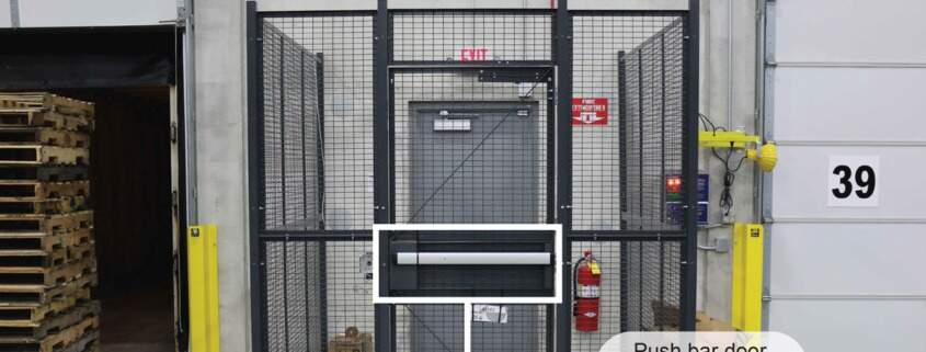 Driver Cages Building Access Cages