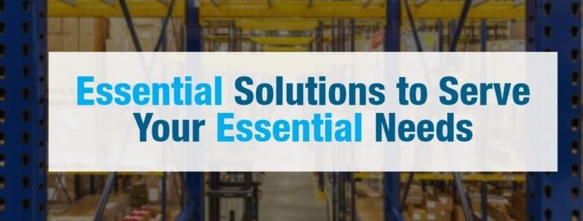 essential solutions storage needs