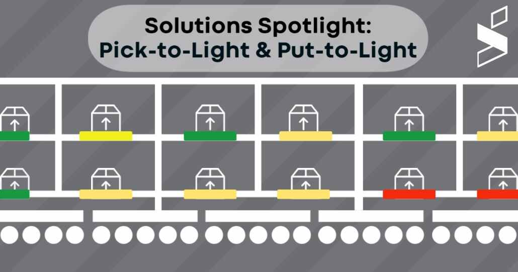 Pick-to-Light Put-to-Light Spotlight