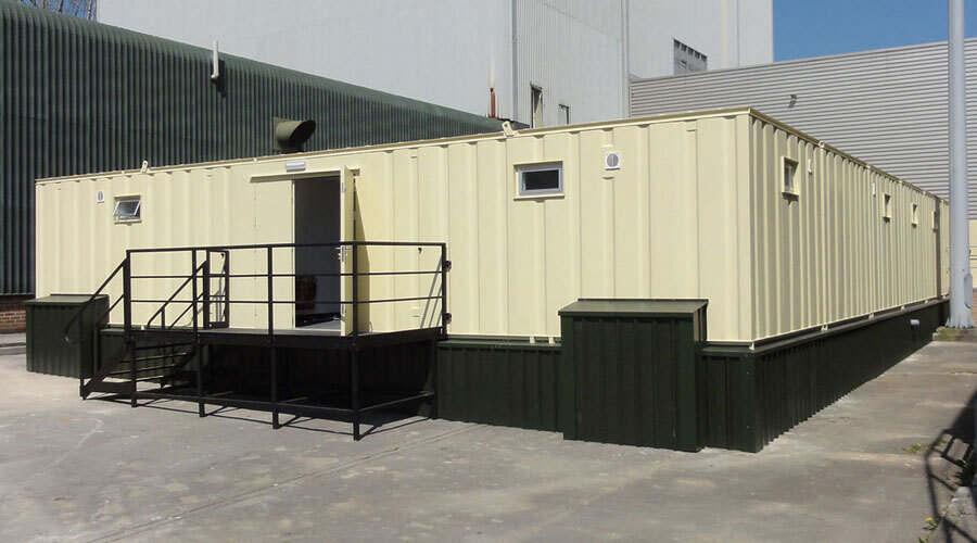 Modular Changing Rooms