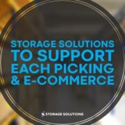 Storage Solutions Each PIcking E-Commerce