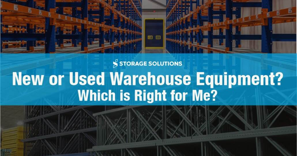 New or Used Warehouse Equipment