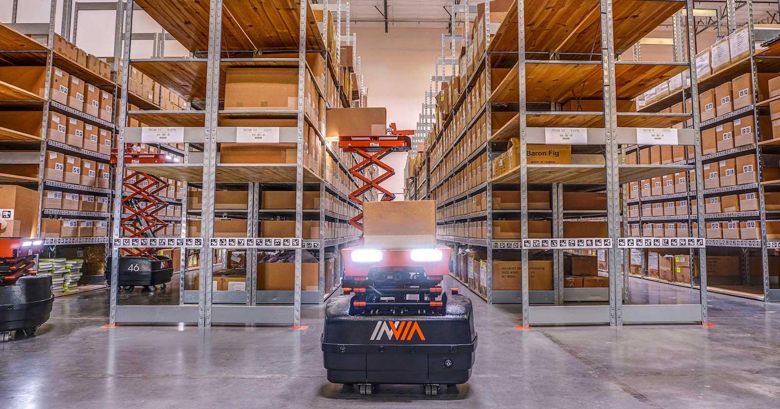 Automated Warehouse Robotics