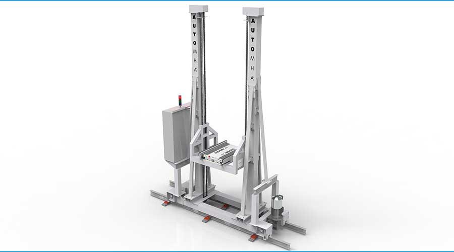ASRS Cart Crane Combo