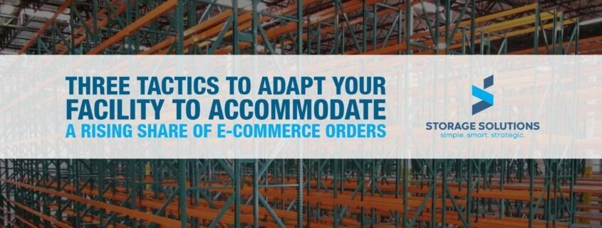 Rising Share of E-Commerce Orders
