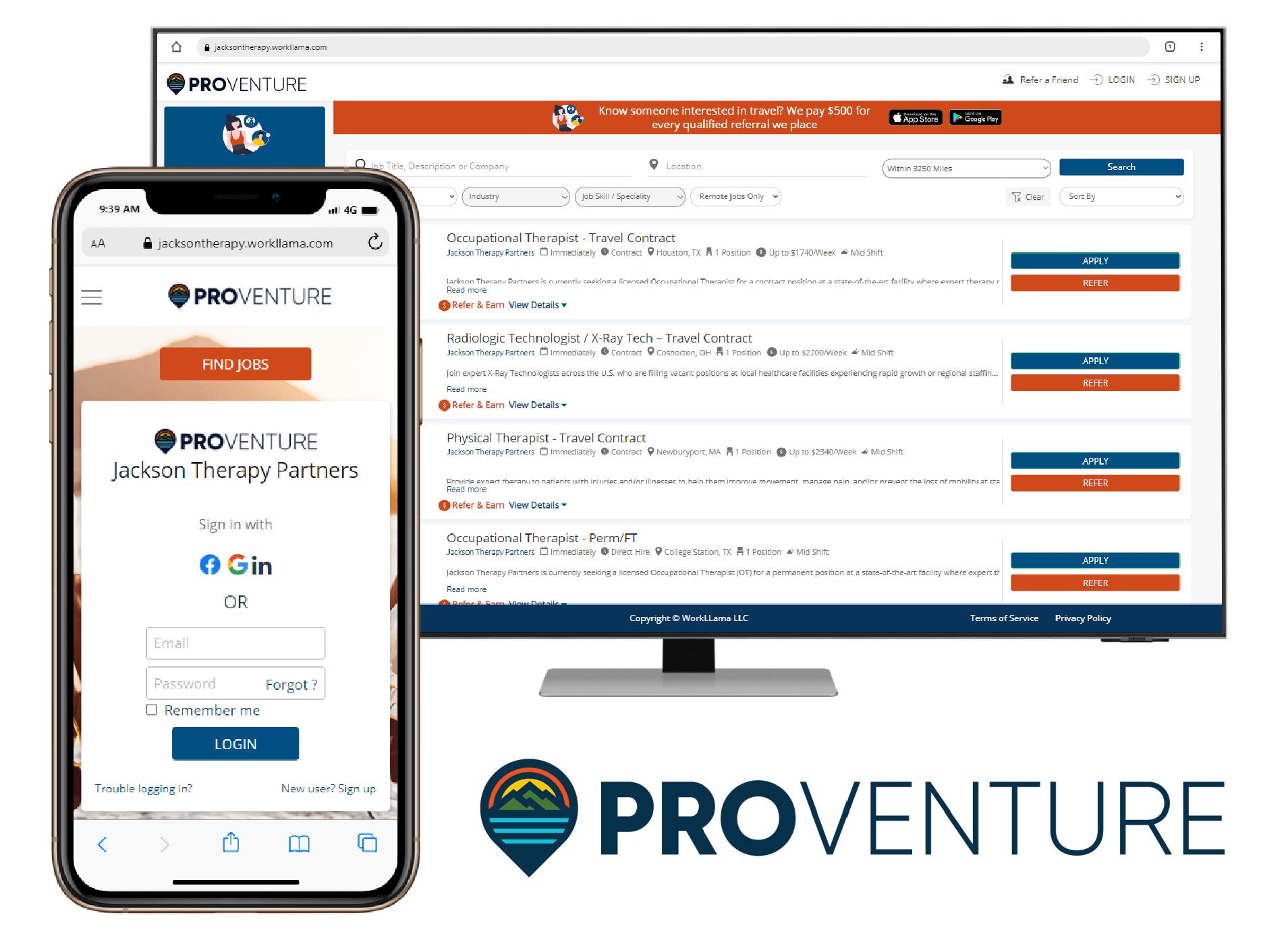 proventure app